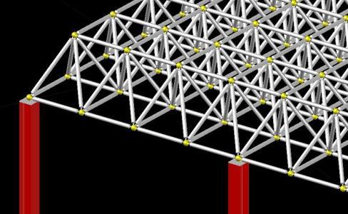 Estereoestructura 3d En Autocad Descargar Cad 9 35 Mb