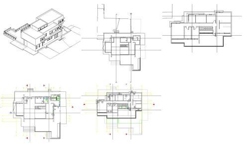 Model house - revit revit model in RVT | CAD (8 21 MB