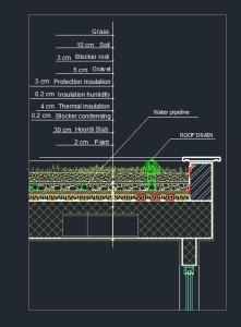 Green Roof In Autocad Cad Download 72 7 Kb Bibliocad