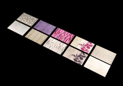 Textura tapetes