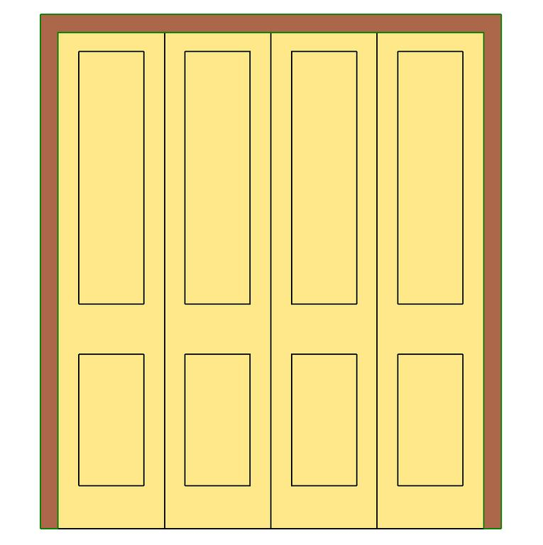 Wardrobe Door In Rfa Cad Download 256 Kb Bibliocad
