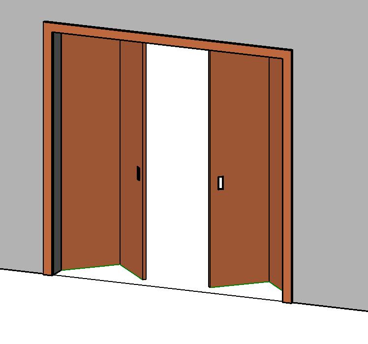 Folding Door In Rfa Cad Download 416 Kb Bibliocad
