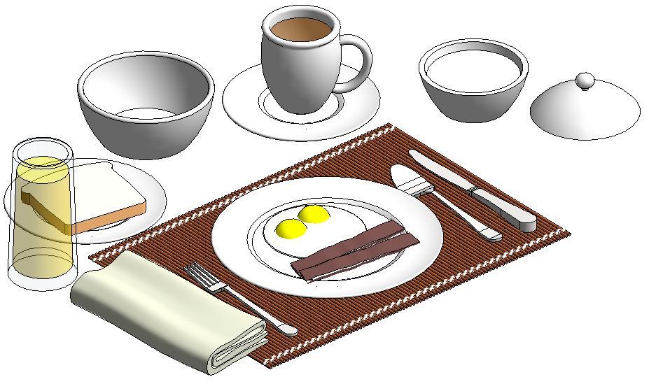 Desayuno servido