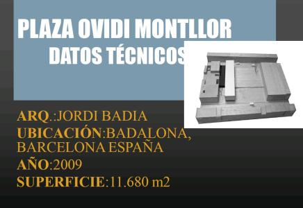 ANALYSIS SQUARE OVIDI MONTLLOR .