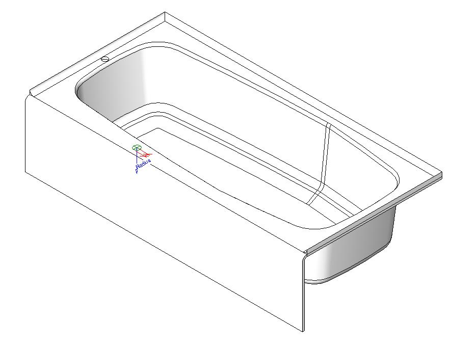 revit bathtub - good idea for home interior design