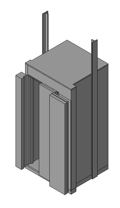 Elevator In Rfa Cad Download 312 Kb Bibliocad