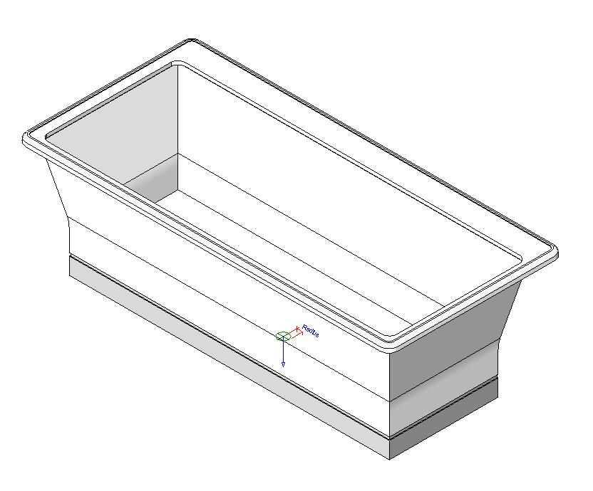 Freestanding Bathtub In Autocad Cad Download 76 19 Kb