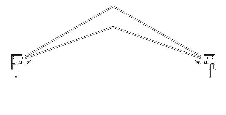 Claraboya piramidal