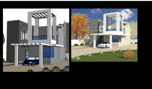 House 3D in revit