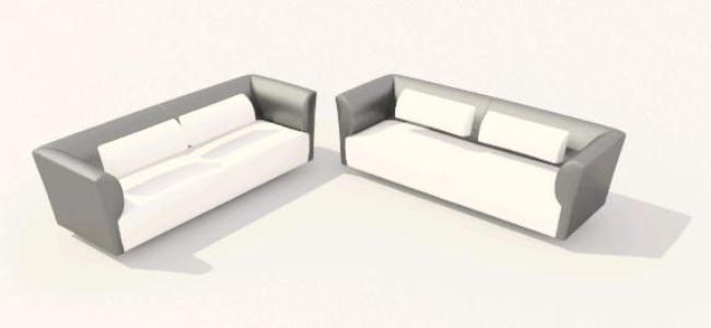 3D Armchairs
