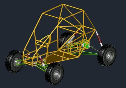 3D Baja SAE Vehicle