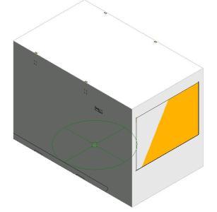 Generador de Emergencia; 150 kW - 3D