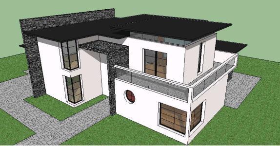 Casas modernas skp las casas de los arquitectos for Casa moderna sketchup download