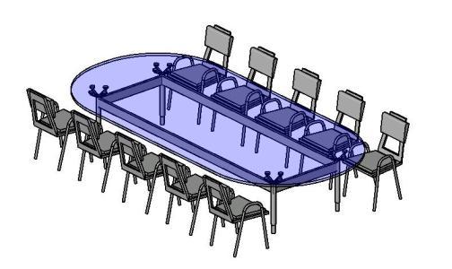 Furniture - revit 3d in RFA | CAD download (587 52 KB