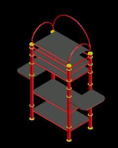 REPISA DE ARTEFACTOS ELECTRONICOS 3D