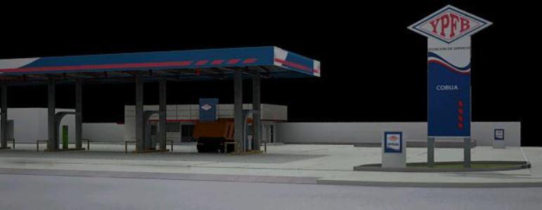 Service Station 3D