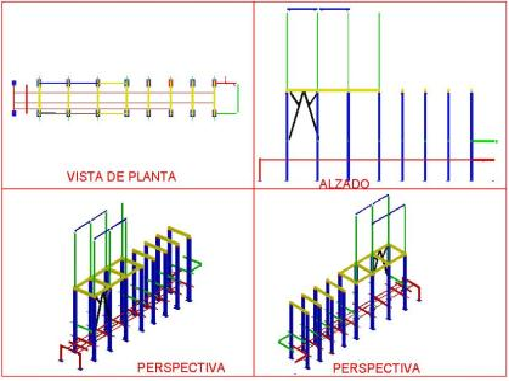 3D metal structure
