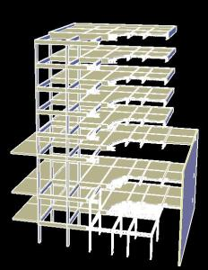 Critical Cut Concrete Structure