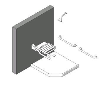 Ducha minusvalidos en rfa descargar cad kb for Duchas para minusvalidos