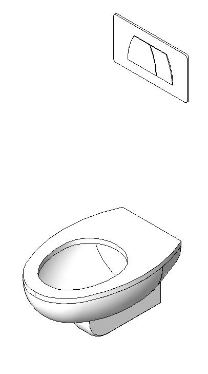 3 toilet with concealed cistern