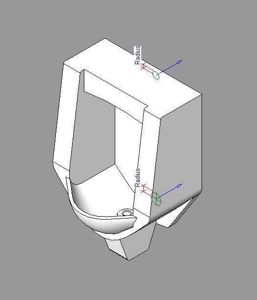 Mingitorio in AutoCAD | CAD download (81 47 KB) | Bibliocad