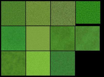 Pack de Texturas de Cesped en Alta Resolución