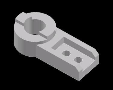 Pieza mecanica 3D
