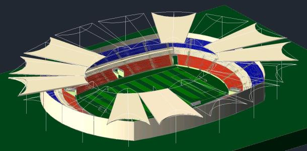Estadio 3d