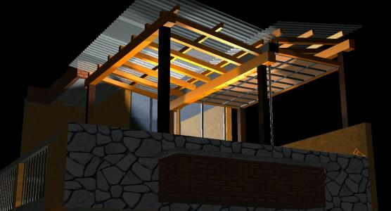 Pergola Design 3d In Autocad Cad Download 6 01 Mb Bibliocad