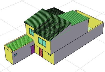 Casa habitacional 3D