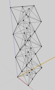 Structure noodle