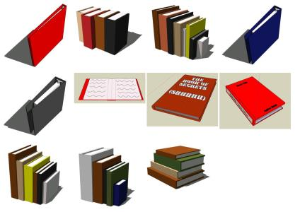 Paper; 3D notebooks
