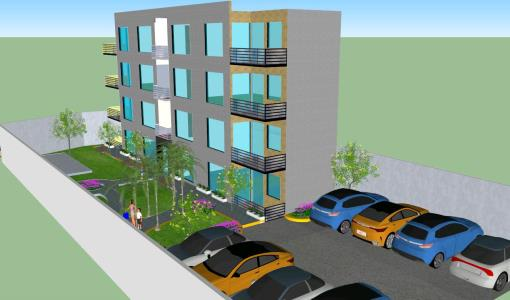 Multifamily Building 3D