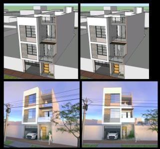 3D FAMILY HOUSE BETWEEN MEDIANS