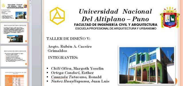 Site analysis uros Chulluni - PUNO