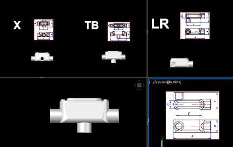 Condulet In Autocad Cad Download 1 65 Mb Bibliocad