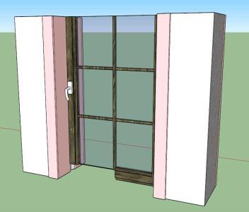 3D window cut