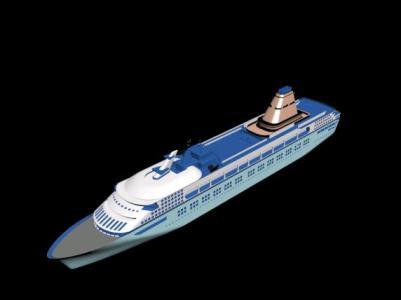 Cruise 3D model