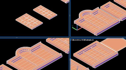 Windows and doors for residential buildings 3D