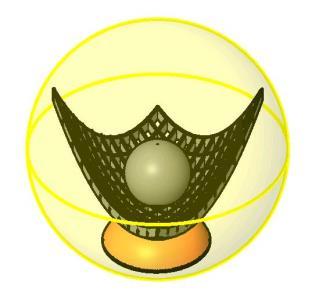 Lampara Paraboloide 3D