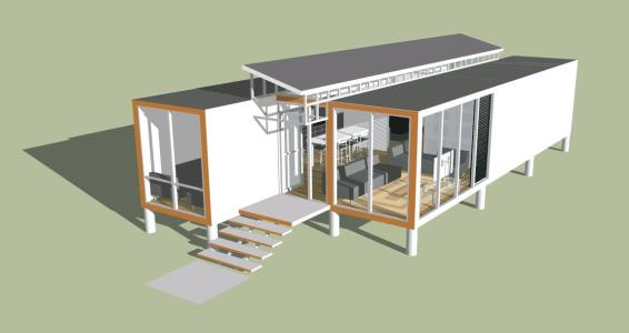 Container House 3D