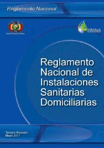 Regulation of sanitary Bolivia