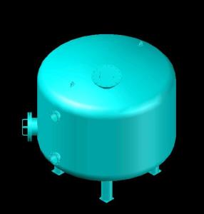 Pressure vessels (filter) in diameter (3300mm)