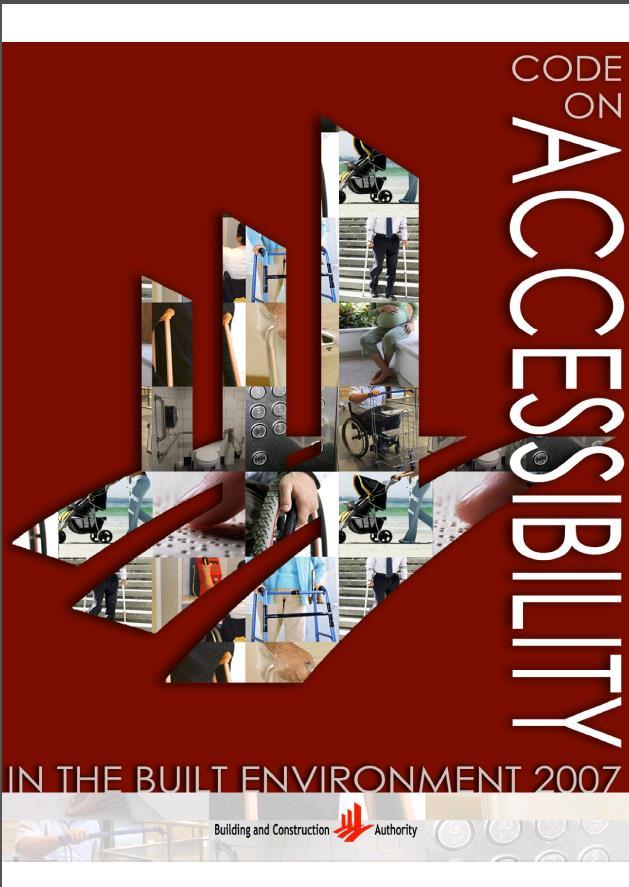 Codigo de Accesibilidad en el entorno construido (CODIGOS USA)