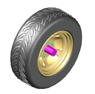 Llanta vehiculos en AutoCAD | Descargar CAD gratis (527.03 ...