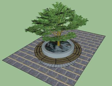 Santutxu seating planter