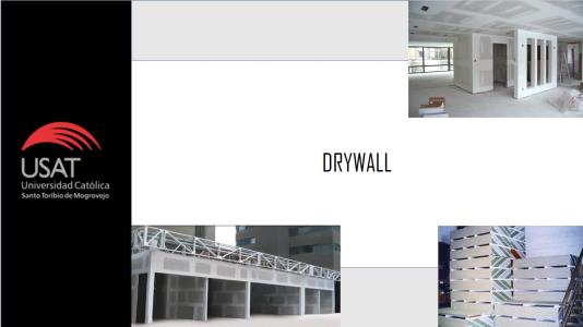 BUILDING MATERIALS - Drywall