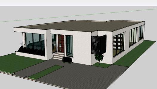 casa minimalista 3d en autocad descargar cad mb