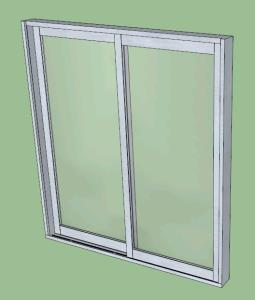 3D Sliding window