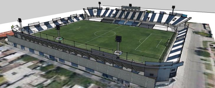 Francisco Cabases 3D stadium
